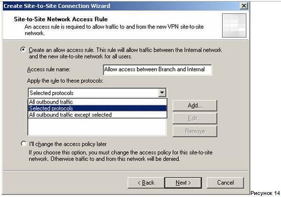 доступ в филиал нужен не