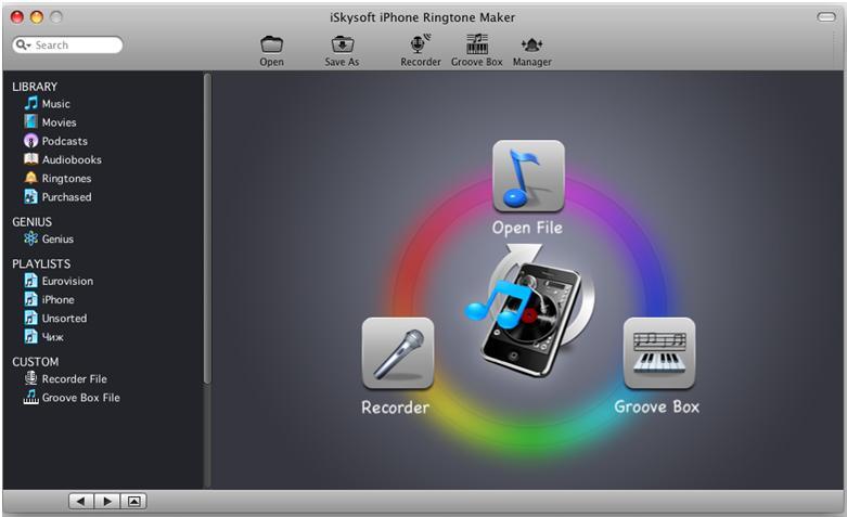 Как сделать рингтон для айфона mac